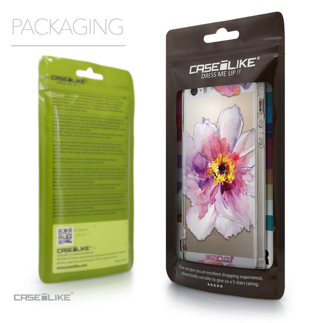 Packaging - CASEiLIKE Apple iPhone SE back cover Watercolor Floral 2231