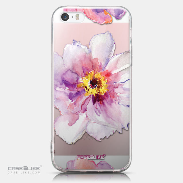 CASEiLIKE Apple iPhone SE back cover Watercolor Floral 2231