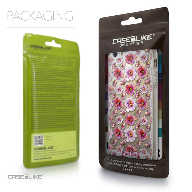 Packaging - CASEiLIKE Apple iPhone SE back cover Watercolor Floral 2232