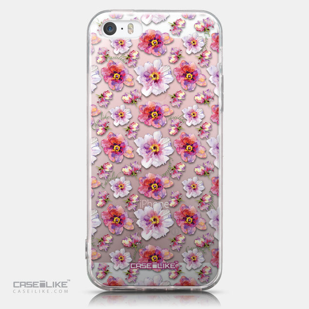 CASEiLIKE Apple iPhone SE back cover Watercolor Floral 2232