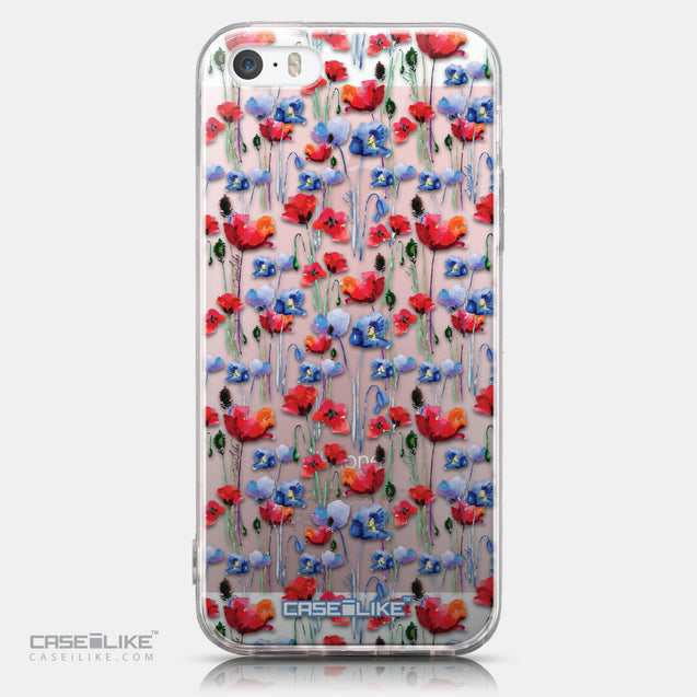 CASEiLIKE Apple iPhone SE back cover Watercolor Floral 2233