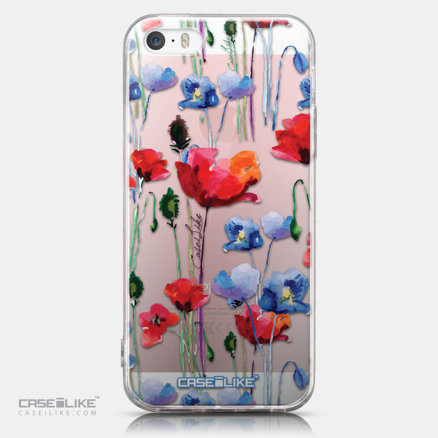 CASEiLIKE Apple iPhone SE back cover Watercolor Floral 2234