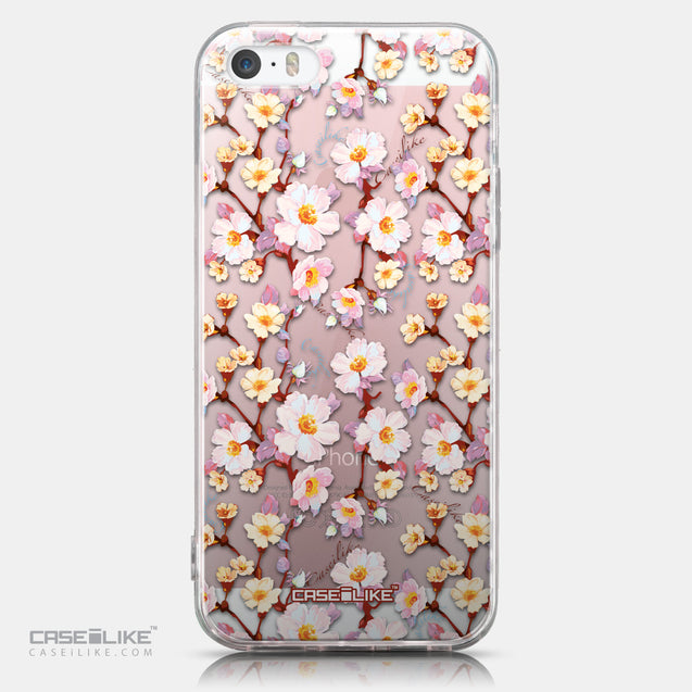 CASEiLIKE Apple iPhone SE back cover Watercolor Floral 2236
