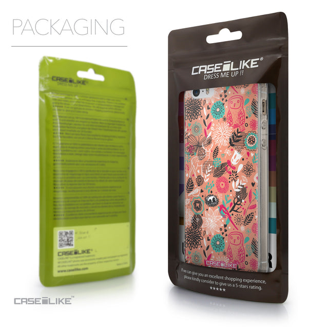Packaging - CASEiLIKE Apple iPhone SE back cover Spring Forest Pink 2242