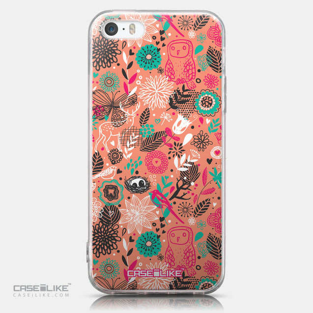 CASEiLIKE Apple iPhone SE back cover Spring Forest Pink 2242