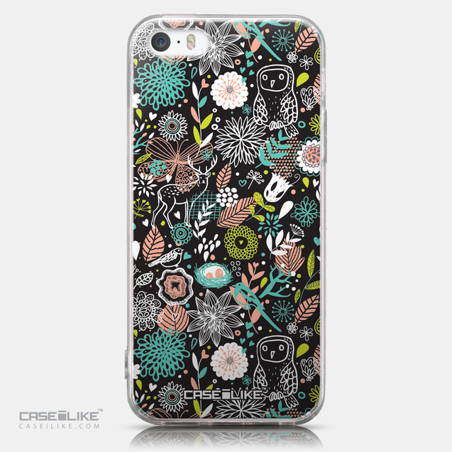 CASEiLIKE Apple iPhone SE back cover Spring Forest Black 2244