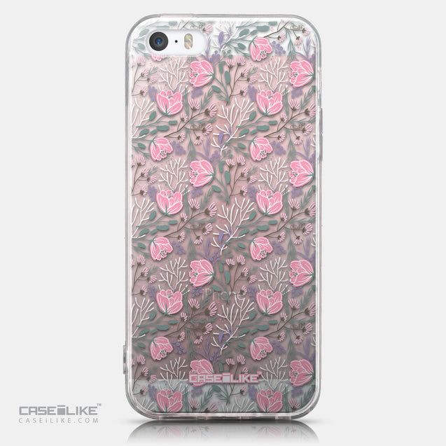 CASEiLIKE Apple iPhone SE back cover Flowers Herbs 2246