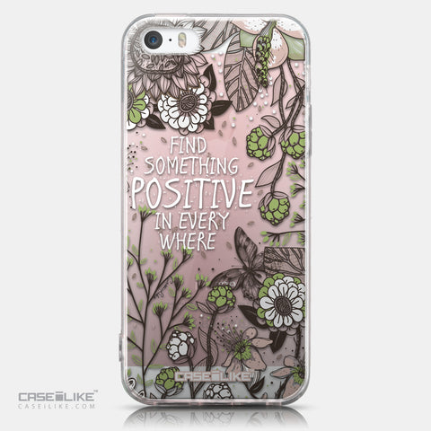 CASEiLIKE Apple iPhone SE back cover Blooming Flowers 2250