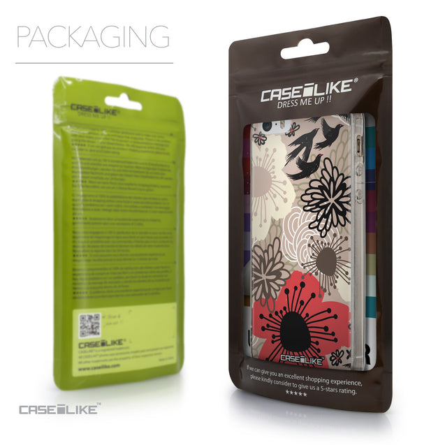 Packaging - CASEiLIKE Apple iPhone SE back cover Japanese Floral 2254
