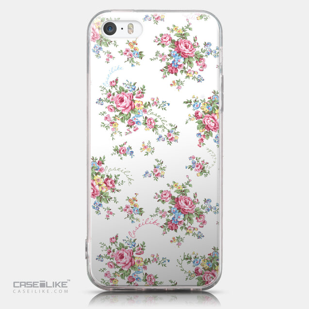 CASEiLIKE Apple iPhone SE back cover Floral Rose Classic 2260