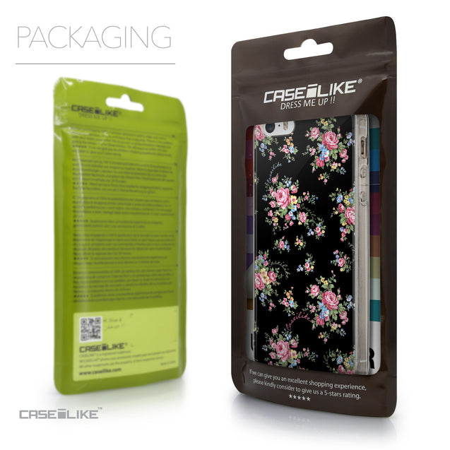 Packaging - CASEiLIKE Apple iPhone SE back cover Floral Rose Classic 2261