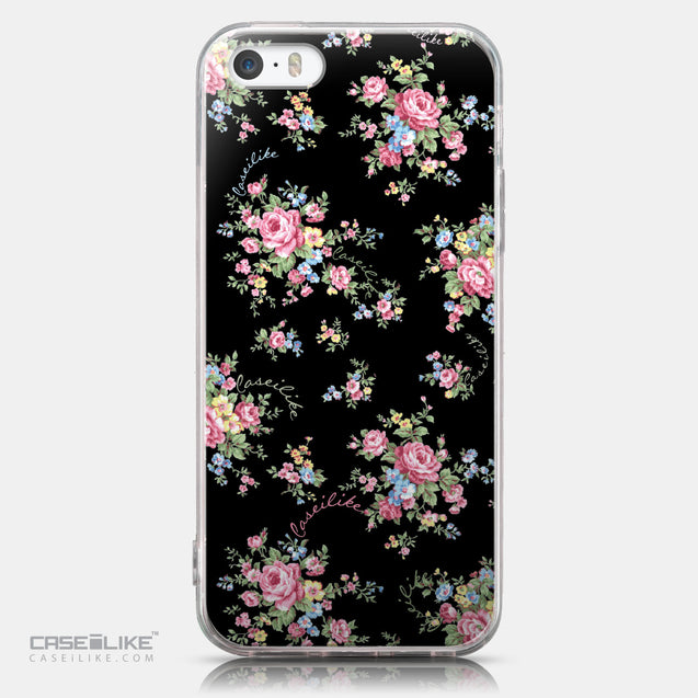 CASEiLIKE Apple iPhone SE back cover Floral Rose Classic 2261