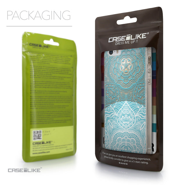 Packaging - CASEiLIKE Apple iPhone SE back cover Mandala Art 2306