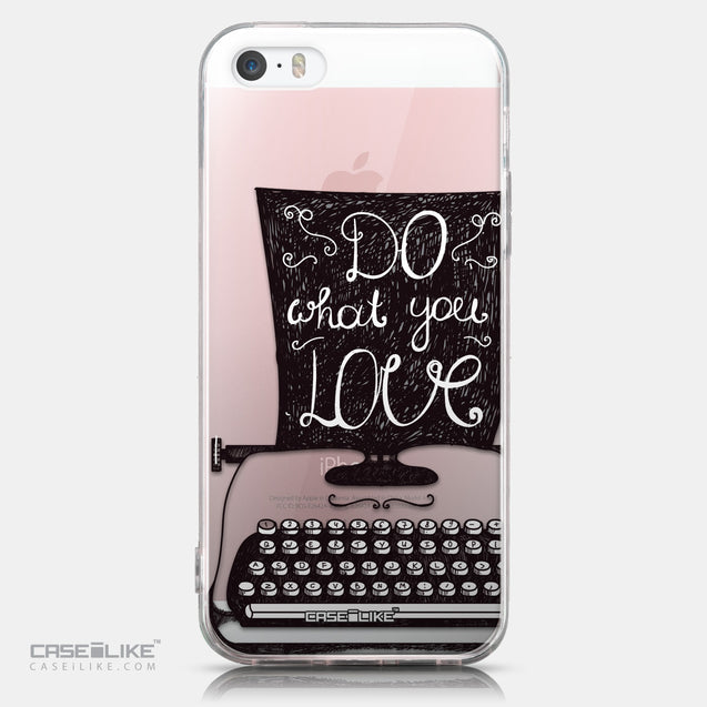 CASEiLIKE Apple iPhone SE back cover Quote 2400