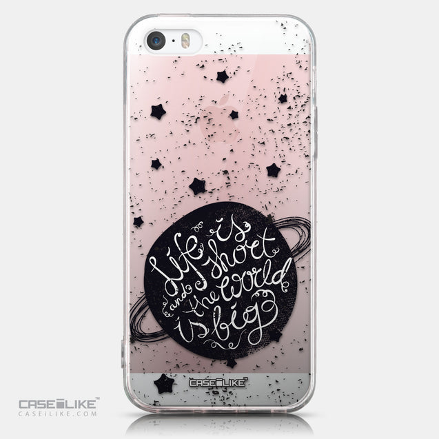 CASEiLIKE Apple iPhone SE back cover Quote 2401