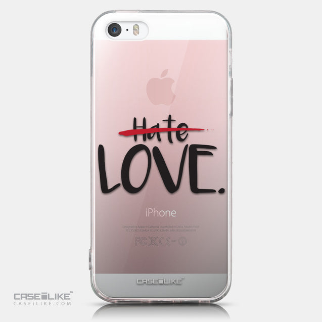 CASEiLIKE Apple iPhone SE back cover Quote 2406