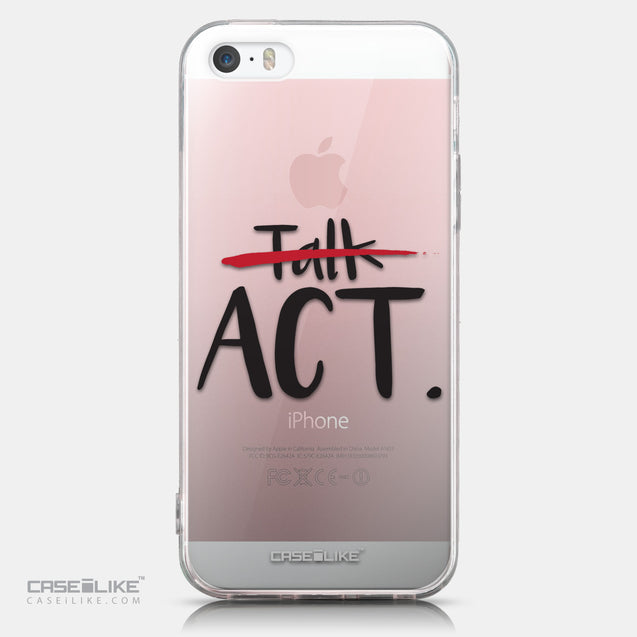 CASEiLIKE Apple iPhone SE back cover Quote 2408
