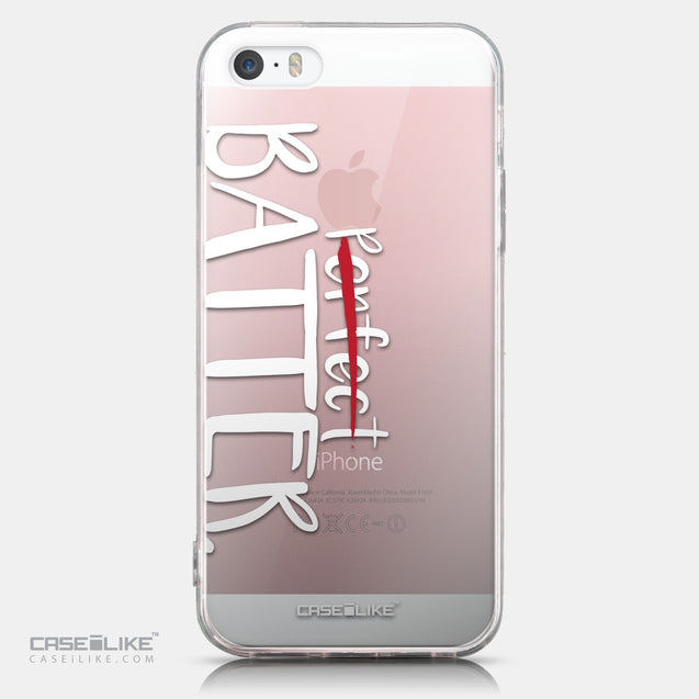 CASEiLIKE Apple iPhone SE back cover Quote 2410