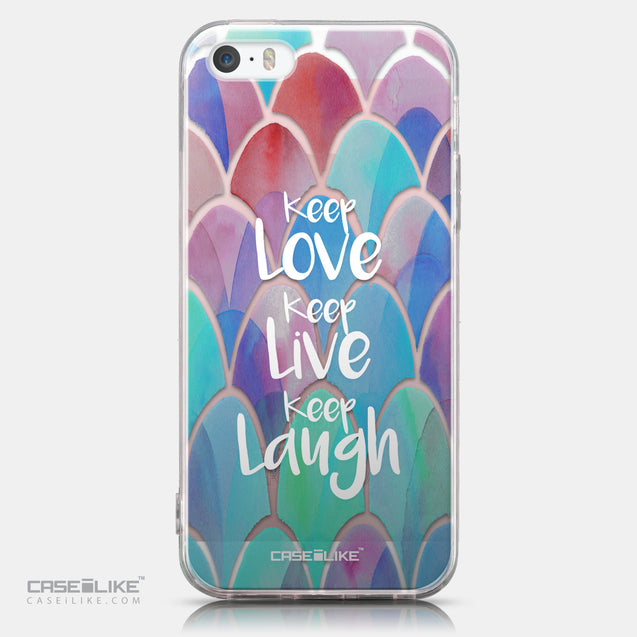 CASEiLIKE Apple iPhone SE back cover Quote 2417