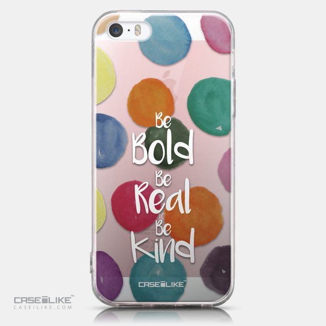 CASEiLIKE Apple iPhone SE back cover Quote 2420