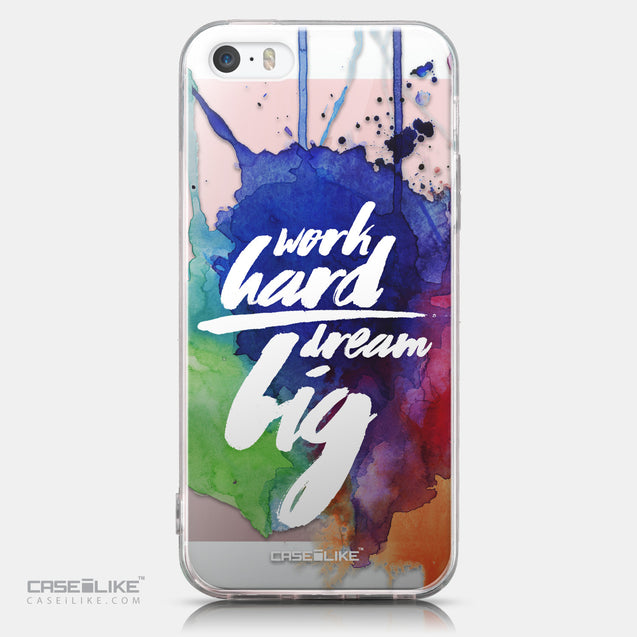 CASEiLIKE Apple iPhone SE back cover Quote 2422