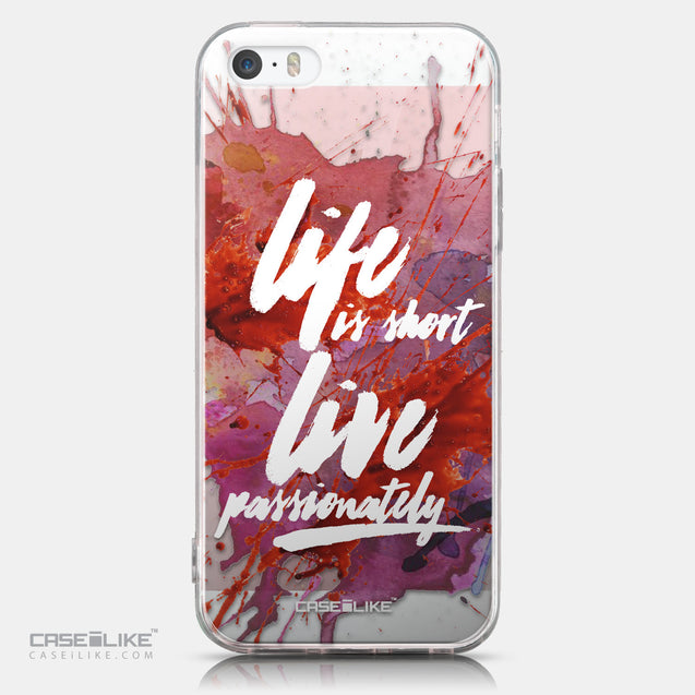 CASEiLIKE Apple iPhone SE back cover Quote 2423