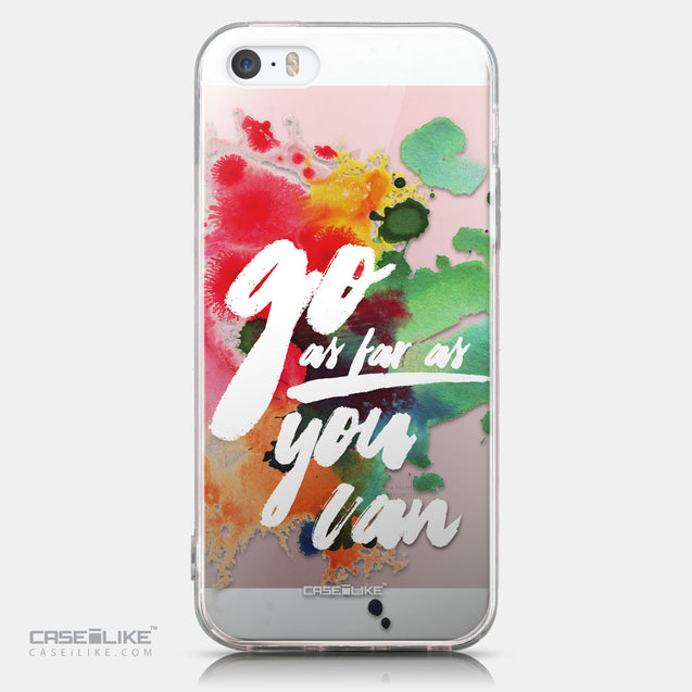 CASEiLIKE Apple iPhone SE back cover Quote 2424