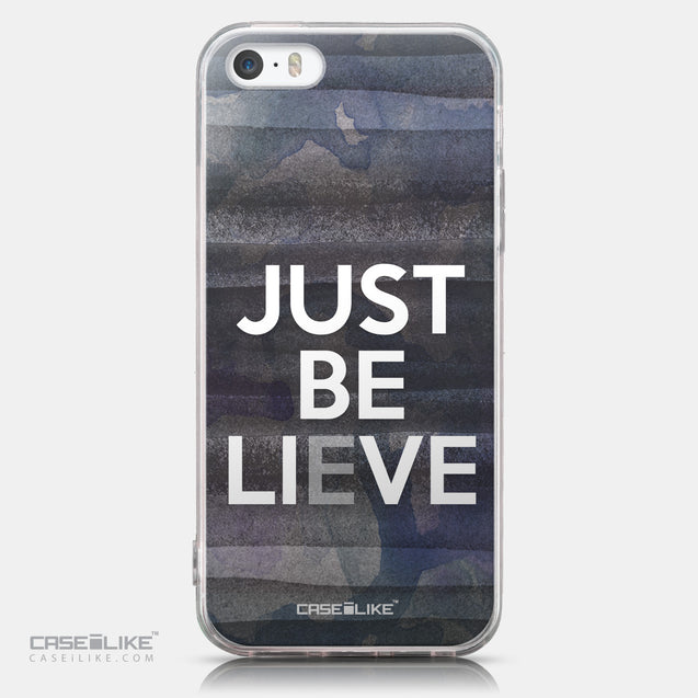 CASEiLIKE Apple iPhone SE back cover Quote 2430