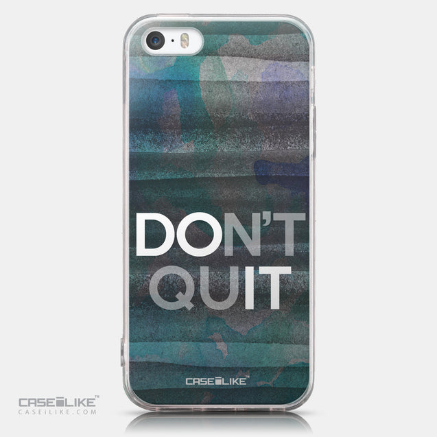 CASEiLIKE Apple iPhone SE back cover Quote 2431