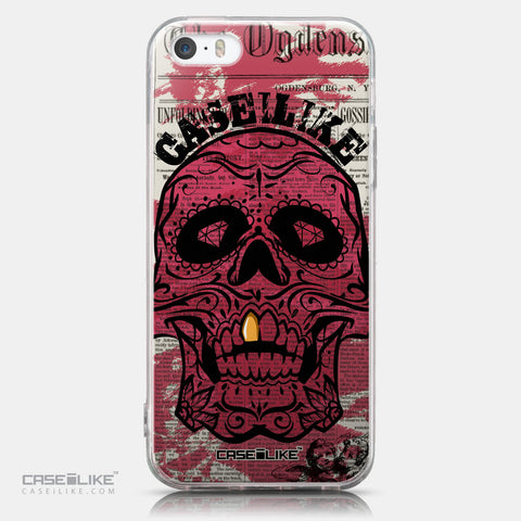 CASEiLIKE Apple iPhone SE back cover Art of Skull 2523
