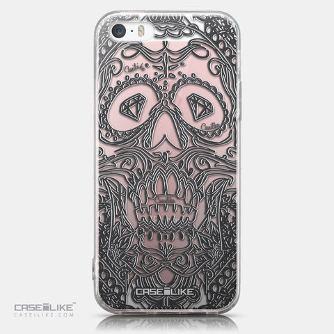 CASEiLIKE Apple iPhone SE back cover Art of Skull 2524
