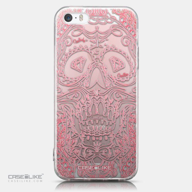 CASEiLIKE Apple iPhone SE back cover Art of Skull 2525