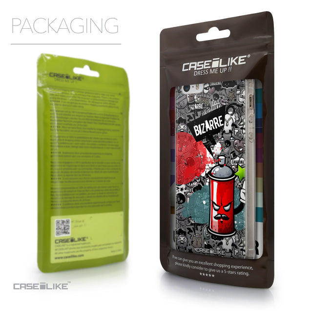 Packaging - CASEiLIKE Apple iPhone SE back cover Graffiti 2705