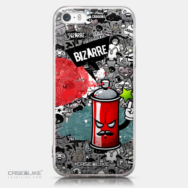 CASEiLIKE Apple iPhone SE back cover Graffiti 2705