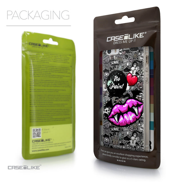 Packaging - CASEiLIKE Apple iPhone SE back cover Graffiti 2708