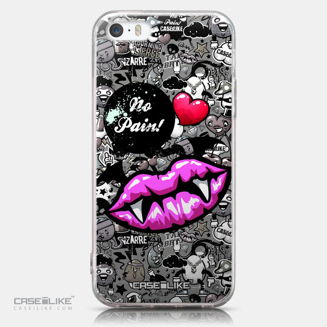 CASEiLIKE Apple iPhone SE back cover Graffiti 2708