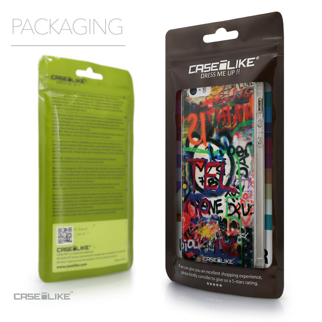 Packaging - CASEiLIKE Apple iPhone SE back cover Graffiti 2721