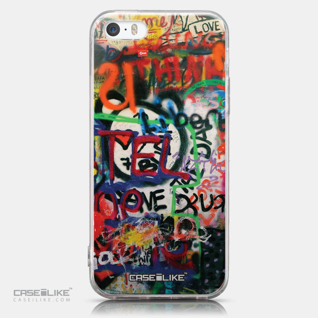 CASEiLIKE Apple iPhone SE back cover Graffiti 2721