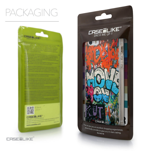 Packaging - CASEiLIKE Apple iPhone SE back cover Graffiti 2722