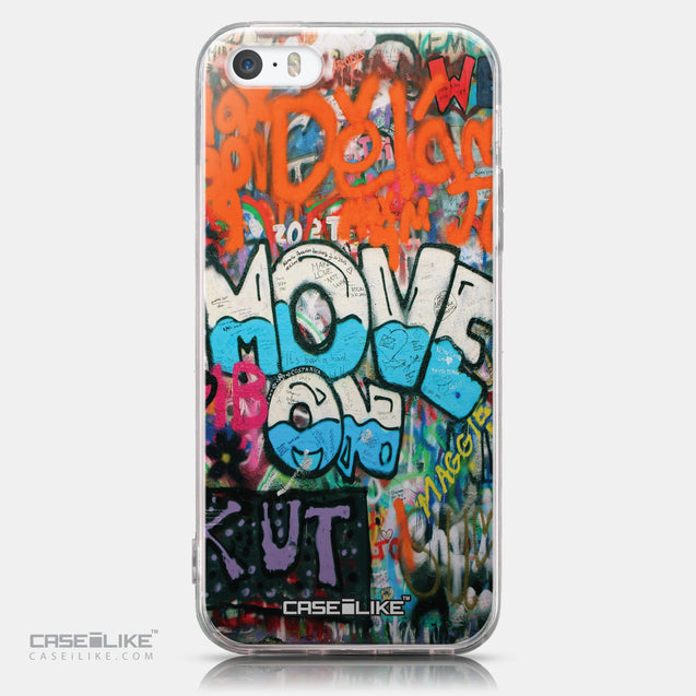 CASEiLIKE Apple iPhone SE back cover Graffiti 2722