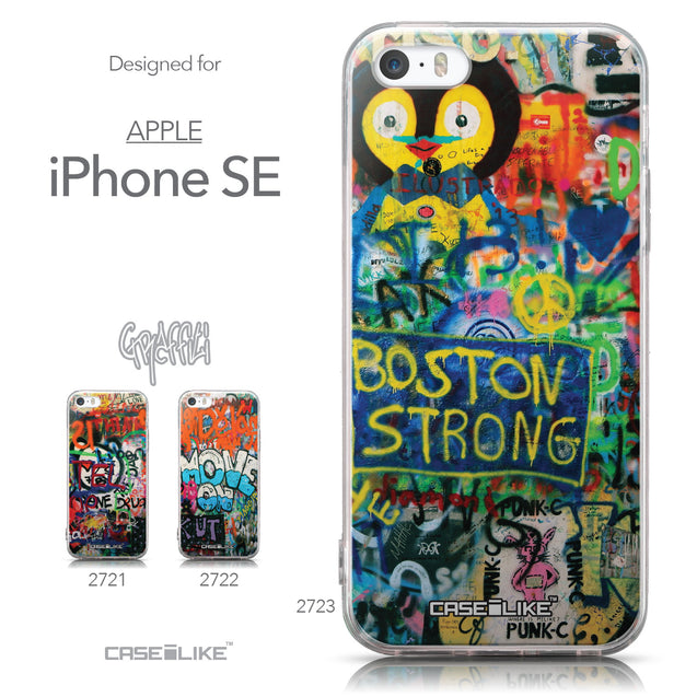 Collection - CASEiLIKE Apple iPhone SE back cover Graffiti 2723