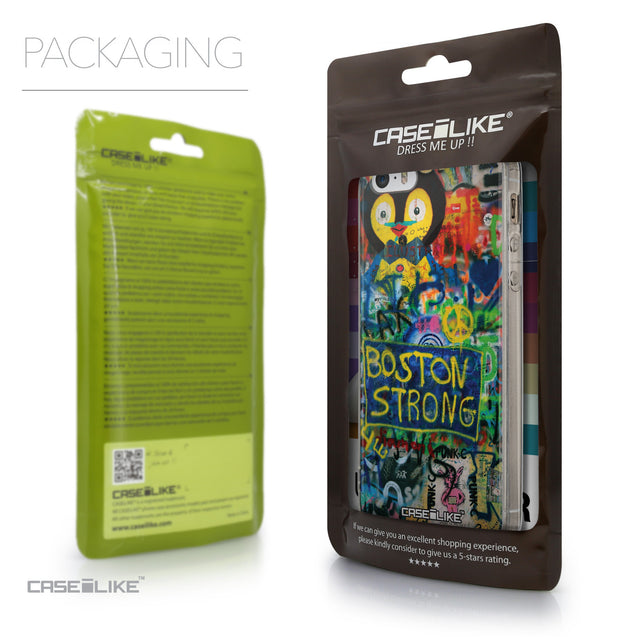 Packaging - CASEiLIKE Apple iPhone SE back cover Graffiti 2723