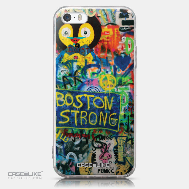 CASEiLIKE Apple iPhone SE back cover Graffiti 2723