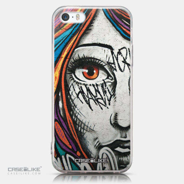 CASEiLIKE Apple iPhone SE back cover Graffiti Girl 2724