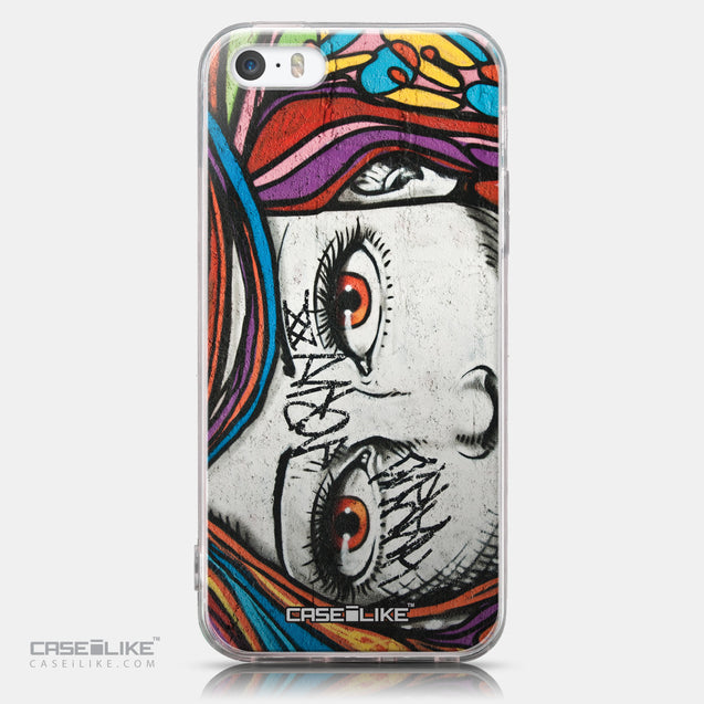 CASEiLIKE Apple iPhone SE back cover Graffiti Girl 2725