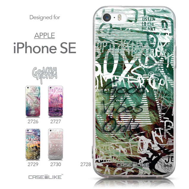 Collection - CASEiLIKE Apple iPhone SE back cover Graffiti 2728