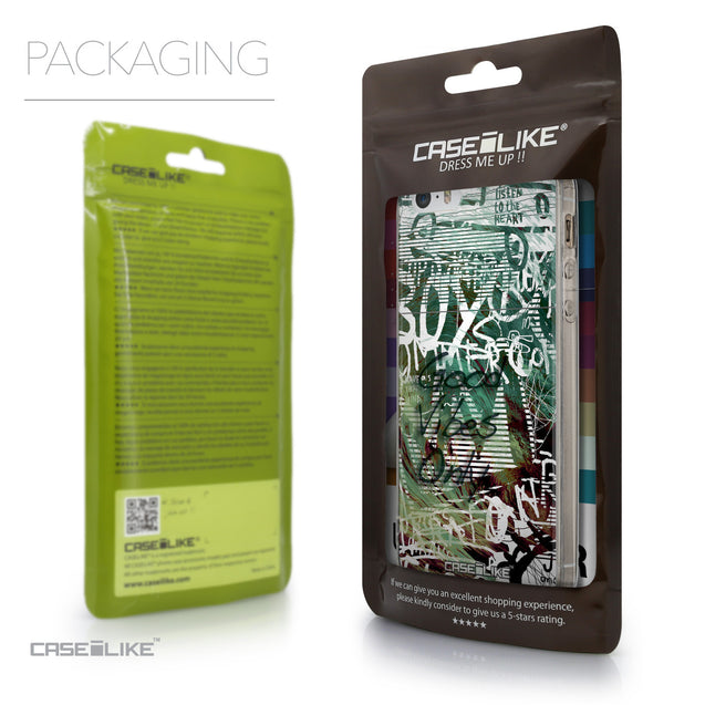 Packaging - CASEiLIKE Apple iPhone SE back cover Graffiti 2728