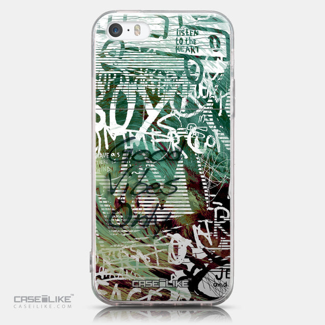 CASEiLIKE Apple iPhone SE back cover Graffiti 2728