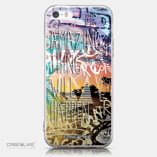 CASEiLIKE Apple iPhone SE back cover Graffiti 2729