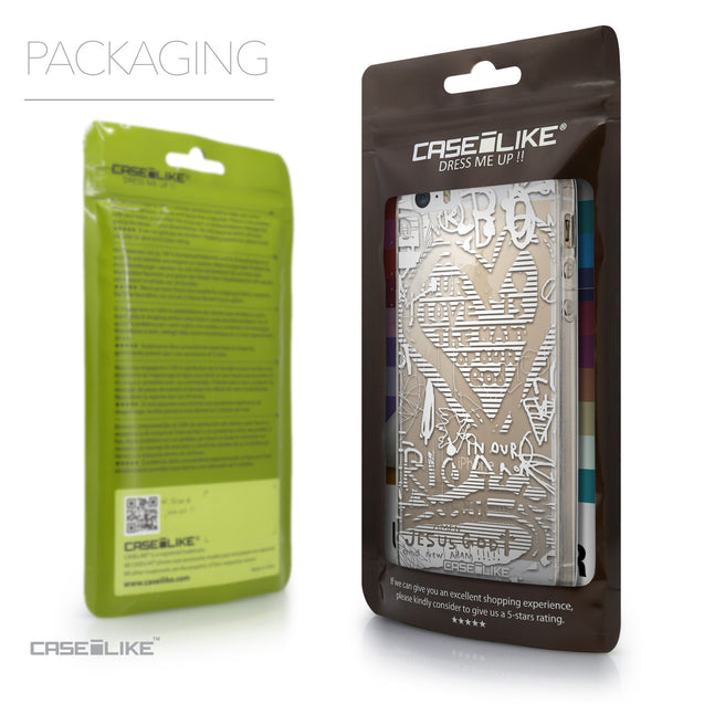 Packaging - CASEiLIKE Apple iPhone SE back cover Graffiti 2730